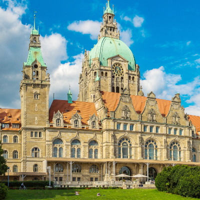 Hannover Urlaub - Rathaus in Hannover